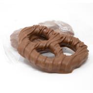 Milk Chocolate Pretzels, Wrapped 6lb