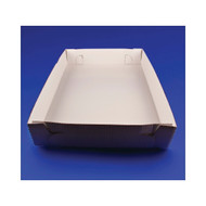 25ct Corrugated Tray Bottom 25 7/8 inch x18 1/16 inch x4 inch