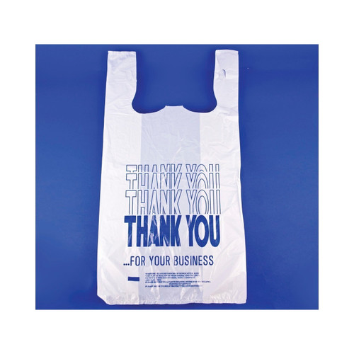 1000ct T-Shirt Sack  inch Thank You inch  Print