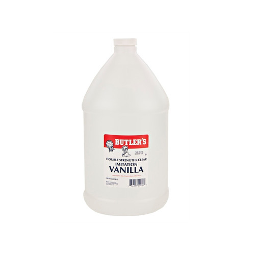 1gal Double Strength Imit. Vanilla-Clear