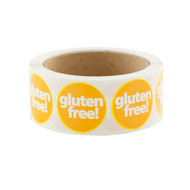 500ct Gluten Free Labels
