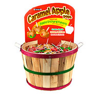 1000ct Carm Apple Pop Basket