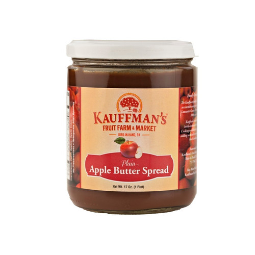 12/17oz Apple Butter (No Sugar No Spice)