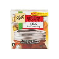 36/12ct Dome Lids (Canning) Regular