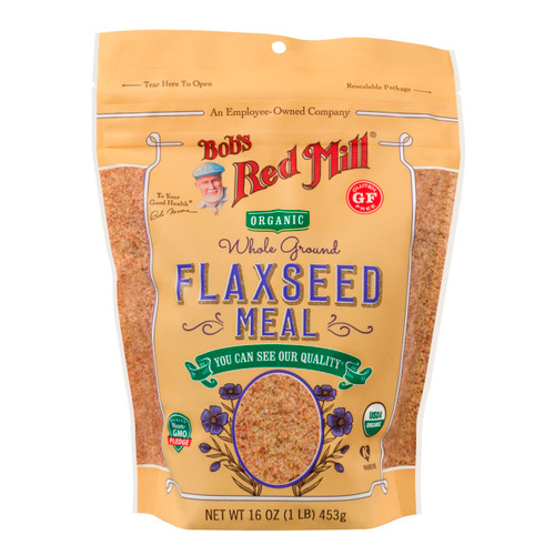 4/16oz Flaxseed Meal - Brown Organic & Gluten Free