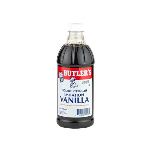 12/16oz Imitation Vanilla Dbl Strength, Dark
