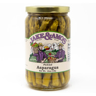 12/16oz Jake and Amos  Pickled Asparagus