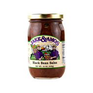 12/16oz Jake and Amos  Salsa Black Bean