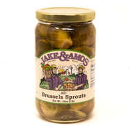 12/16oz Jake and Amos  Dill Brussel Sprouts