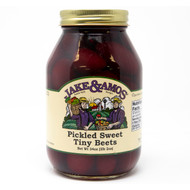 12/32oz Jake and Amos  Pickled Sweet Tiny Beets