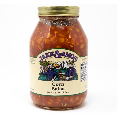 12/32oz Jake and Amos  Corn Salsa