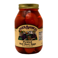 12/32oz Jake and Amos  Pickled Red Beet Eggs