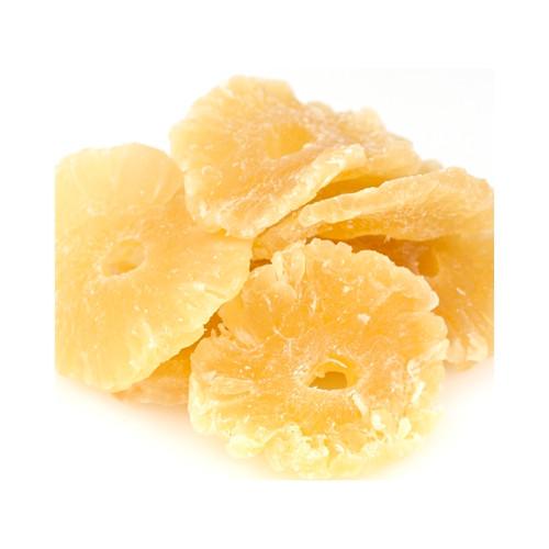 11lb Pineapple Rings Low Sugar No Sulfur