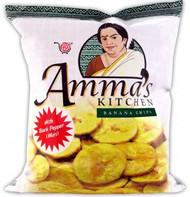 Amma's Banana Chips Mari Black Pepper 400g