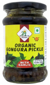 24 Mantra Organic Gongura 300g Pickle