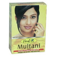 6xHesh Multani Mati Face Pack 100 gm-natural cleanser-USA