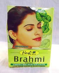 2 x Hesh Herbal Brahmi Hair Ayurvedic Powder BACOPA 3.5oz-USA