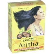 6 x HESH ARITHA (Sapindus Trifoliatus/Soapnut) Hair Wash Powder USA