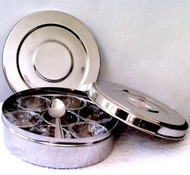Stainless Steel Masala Dabba (Traditional Indian Spice Box!) USA
