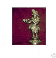 Brass Krishna with Flute statue,USA