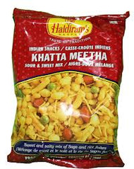 Haldiram's Khata Mita Snack 14oz(Pack2)-Indian Snacks,Namkeen,USA