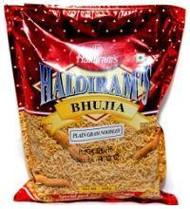 Haldiram's Bhujia Plain 14OZ(Pack2)- Indian Snacks,Namkeen,USA