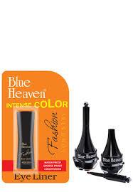 Blue Heaven FASHION Eyeliner Intense BLACK NO Smudge Proof,USA