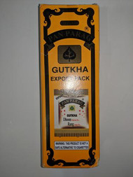 1 BOX of Pan Parag Gutkha - 52 Pouches Per Box  USA Seller - FAST & FREE SHIPPING! Export Quality! MFG Jan.2019 Ingredients: Betelnuts, Catechu, gutkha, Lime, Permitted Spices & Flavours. Contains added Flavour