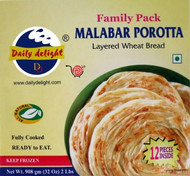 Daily Delight Malabar Porotta Family Pack 2lb