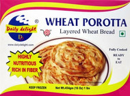 Daily Delight Wheat Porotta 454g