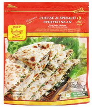 Deep Cheese & Spinach Naan 2pc