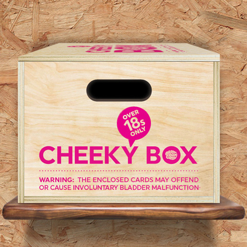 click here to shop our cheeky box range