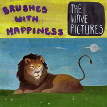 """The Wave Pictures - Brushes With Happiness (12"""" VIOLET VINYL LP)"""
