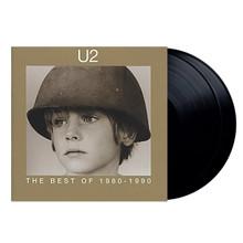 """U2 - The Best Of 1980-1990 (2 x 12"""" VINYL LP)"""