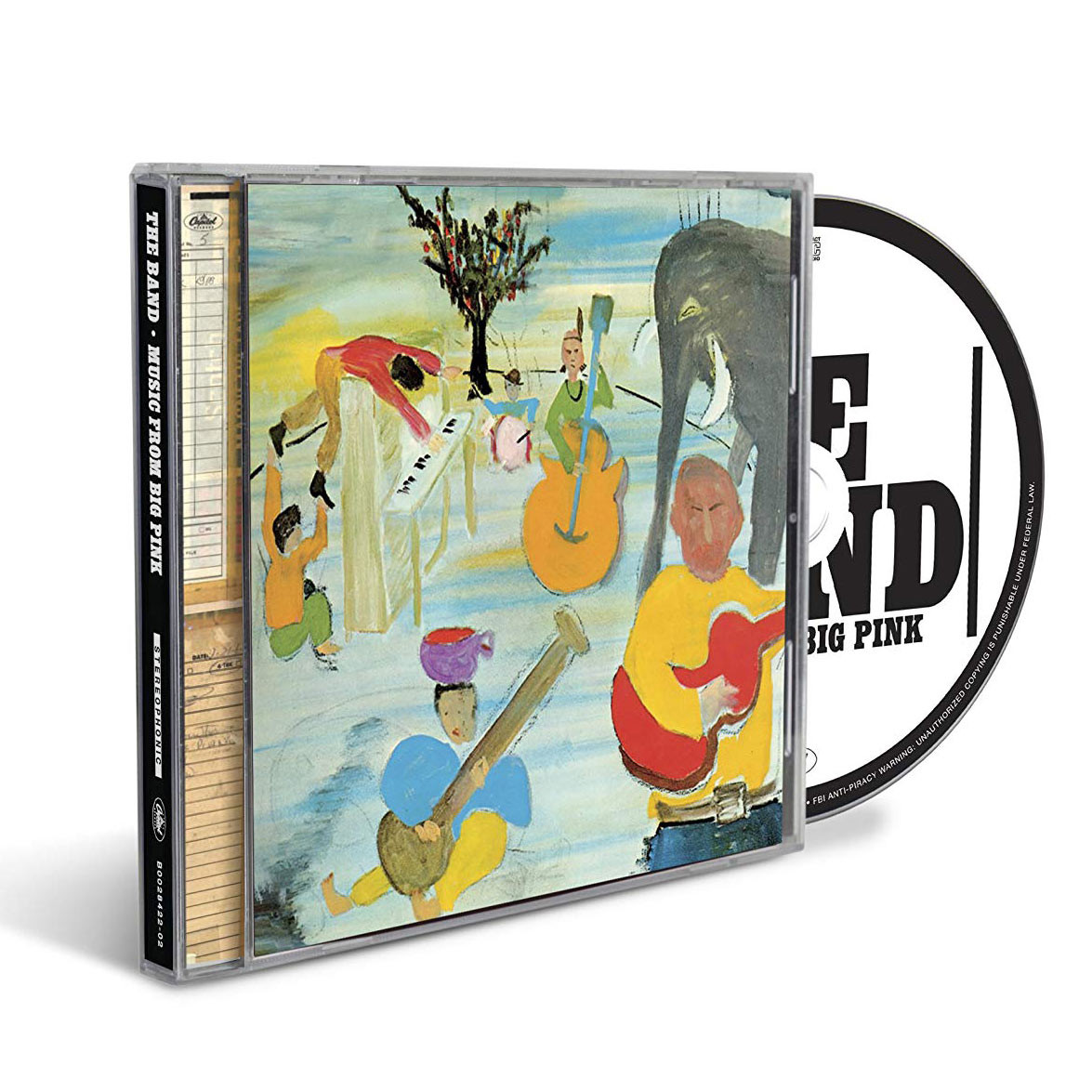 The Band - Music From Big Pink - 50th Anniversary Edition (CD)