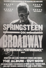 Springsteen on Broadway Soundtrack  - Official A3 poster (POSTER)