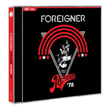 Foreigner - Live At The Rainbow (DVD + CD)