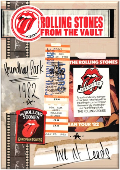 The Rolling Stones - Live From The Vault Leeds 1982 (DVD)
