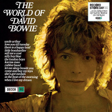 "David Bowie - The World Of David Bowie (12"" VINYL LP) RECORD STORE DAY 2019 RSD"