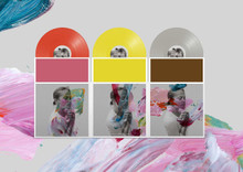 """The National - I Am Easy To Find (3 x 12"""" COLOUR VINYL LP)"""