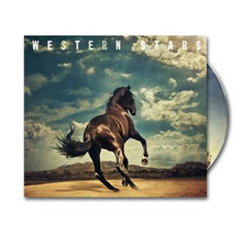 Bruce Springsteen - Western Stars (CD) WITH A5 ART PRINT