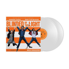 "Blinded By The Light, Bruce Springsteen, Soundtrack (2 x 12"" WHITE VINYL LP + RED BANDANA)"