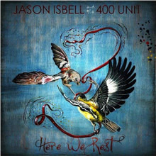 "Jason Isbell and the 400 Unit - Here We Rest (12"" BLUE VINYL LP)"