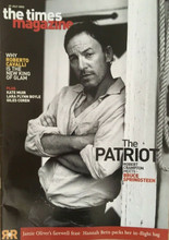The Times Magazine - Bruce Springsteen cover and interview from 27 July 2002
