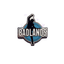 Badlands - Bruce Springsteen Silhouette (ENAMEL BADGE)