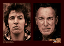 Bruce Springsteen - Further up the Road (poster signed by Frank Stefanko)