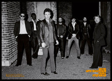 Bruce Springsteen - The Crew (poster signed by Frank Stefanko)