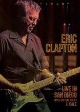 Eric Clapton - Live in San Diego with Special Guest JJ Cale (DVD)