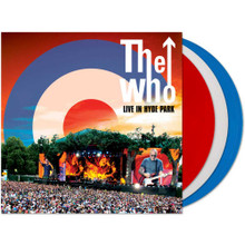 The Who - Live In Hyde Park (3 RED VINYL LP)