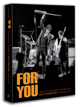 Bruce Springsteen - For You (imperfect copy HARDBACK BOOK)